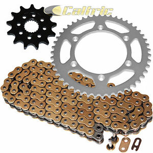 Gold O-Ring Drive Chain & Sprockets Kit for Gas Gas Ec250 Ec300 Ec450 2011-2015