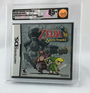 New The Legend of Zelda Spirit Tracks Nintendo DS Factory Sealed Graded VGA 85+