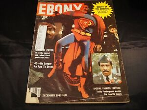 Ebony Magazine December 1981 Richard Pryor 13x11 Journal