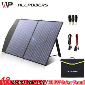 Portable Power Station 288Wh/606Wh Generator with Foldable 100W Solar Panel UK