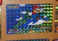 SUPER MARIO WORLD BANPRESTO CARDDASS CARD PRISM CARTE 20 NITENDO JAPAN 1993 **