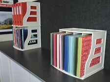LP Vinyl Record Crate 12x12 Paper Storage Rack Ring Binder Stand Magazine Holder