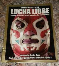 """MAGAZINE HISTORIA DE LOS RUDOS LEYENDAS DEL CUADRILATERO """" CANEK"""" COVER"""