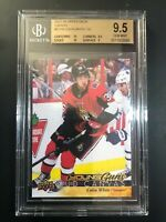 2017-18 Upper Deck Colin White Young Guns Canvas Rookie BGS 9.5