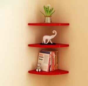 Wall Shelves Shaped Decorative Wood Modern 3D Home Sticker Korean Gfit Shelf New