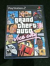 PS2 Games Grand Theft Auto Vice City Sony PlayStation Game Video ps Guns Autos