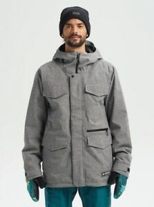 Burton Covert Snowboard Jacket - Men's - XX-Large / Bog Heather