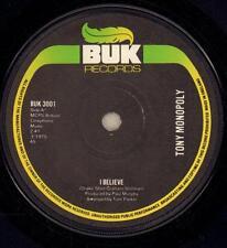 "Tony Monopoly(7"" Vinyl)I Believe-BUK-BUK 3001-65-1975-VG/VG+"