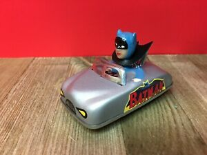 Vintage Friction Tin toy Car Custom Made With Aoshin Repro Head and Stickers