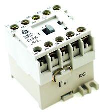 GE Miniature Din Rail Magnetic Contactor CR6RA40EA 120V AC Coil CS4-40E-120