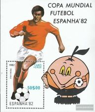 Kaap Verde Blok 5 (compleet.Kwestie.) postfris MNH 1982 Voetbal-WM 1982 in Spanj