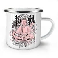 Buddha Meditation NEW Enamel Tea Mug 10 oz | Wellcoda