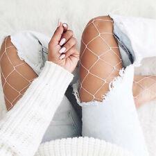 Fishnet pantyhose White Fishnet stockings Fishnet Blogger Trend Summer