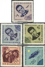 Bulgarien 1512-1516 (kompl.Ausg.) postfrisch 1965 Sowj. Weltraumschiff Woschod