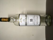 Macallan 18 scotch bottle (empty)
