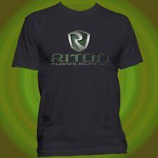 Riton USA AR-15 Rifle Scopes Red Dot Sight Binocular Hunting Black T-shirt S-5XL