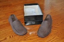NWB!! Mens SAKS FIFTH AVENUE Brown Moccasins Casual Shoes Size 9 M