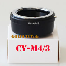 CY Contax Yashica Lens To Micro 4/3 M4/3 Adapter GF3 GH3 EPL3 EPL5 G5 G3 CY-M4/3