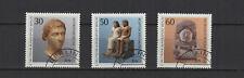 1983 Allemagne Berlin objets d'art des musées 3 timbres oblitérés/T2257