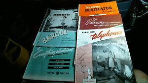 20 1948 Mid-Century Modern HVAC fixture appliance Product Catalog vintage old