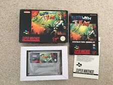 Earthworm Jim > Snes En Caja + completamente > > Super Nintendo PAL en funcionamiento ukv