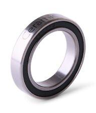 6805 61805 2RS Si3N4 Ceramic Ball Bearing Rubber Sealed BB Hubs 25X37X7mm