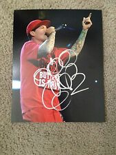 Vanilla Ice Autographed 8X10 Photo Teenage Mutant Ninja Turtles ICE ICE BABY RAP