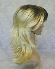 "20"" Long Blonde Ombre Heat Ok Full synthetic Wig - 001"