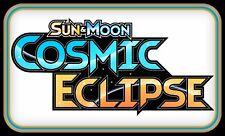 Sun & Moon COSMIC ECLIPSE CODES ~ Pokemon Online Booster Code Cards TCGO Digital