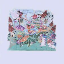 1pcs 3D Fairy Forest Handmade Happy Birthday Postcard Greeting Cards Invitations