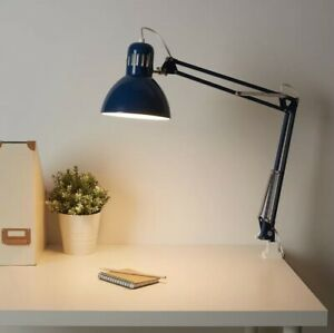 Clamp Lamp Blue Adjustable Table Desk Work Office Ikea Tertial