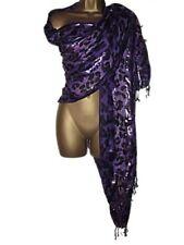 Viscose/Rayon Animal Print Shawls/Wraps Women's Scarves and Shawls