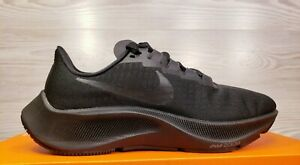 Nike Air Zoom Pegasus 37 Black Running Training BQ9646 005 Size 12.5