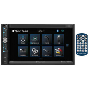 """Planet Audio P695MB 6.95"""" Double DIN Fixed Face Touchscreen Mechless Receiver..."""