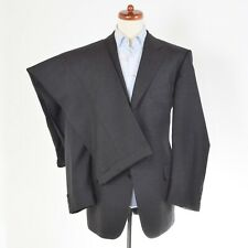 CLASSIC Burberrys Anzug Grau Grey Gr 54 Made in Germany Wolle Wool Business Suit