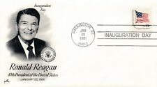 NR. 13644 Briefmarken USA Ersttag Brief  Präsident Ronald Reagan 1981