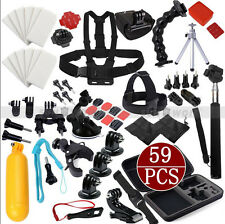 Outdoor Sport Floating Chest Head Mount 59in1 Accessories F. GoPro Hero 3 2 4 3+