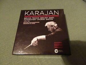 7CD BOX SET - KARAJAN - REMASTERED - BERLIOZ/DEBUSSY ETC