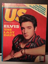 US MAGAZINE - ELVIS THE LAST DAYS - AUGUST 24, 1987