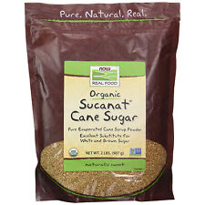 NOW Foods Sucanat, Organic Sugar Cane - 2 lb