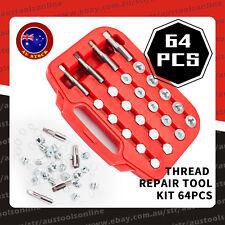 64pcs Oil Drain Plug Thread Repair Kit HSS Drill Tap Tool Set for Gearbox M13-20