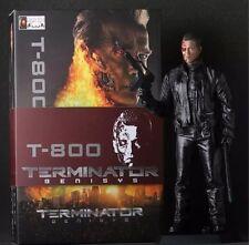"""Crazy Toys Terminator GENISYS T-800 Battle-Damaged 12"""" Statue Figure Figurine"""