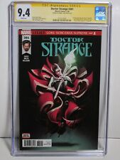 Doctor Strange #381 CGC 9.4 Signed Cates White Pages 1/18 Marvel Comics