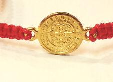 San benito Sant benedict Red Cord Bracelet Prayer Good Luck Judaism