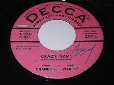 Karen Chandler & Jimmy Wakely: Crazy Arms / Tonight You Belong To Me 45