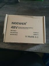 Neewer 1-Channel 48V Phantom Power Supply with Adapter and One Xlr Audio Cable