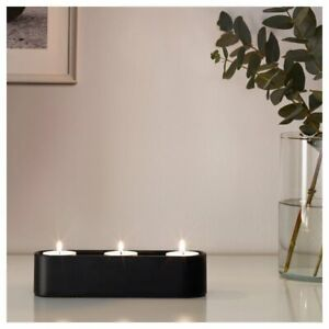 IKEA Tealight Holder for 3 candles Candle Holder with Anti Slip and Anti Slide