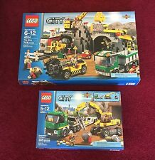 Lego New City The Mine 4204,Excavator Transport 4203 ~retired Sealed Sets~