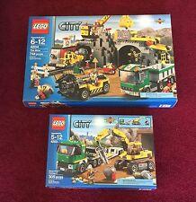 Lego New City The Mine 4204,Excavator Transport 4203 ~retired Sealed Sets~