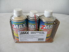 3 Pack ZMAX Mico Lubricant Fuel System, Air Intake Cleaner & Engine Decarbonizer